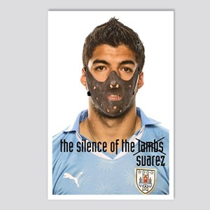 luis suarez Postcards (Package of 8)
