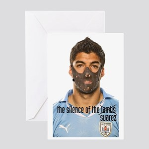 luis suarez Greeting Card