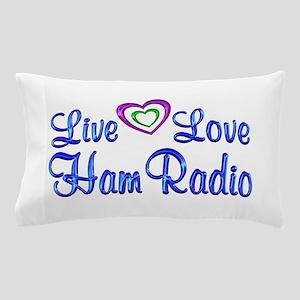 Live Love Ham Radio Pillow Case