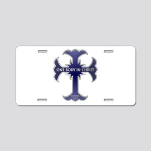One Body In Christ Aluminum License Plate