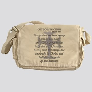 One Body In Christ Messenger Bag