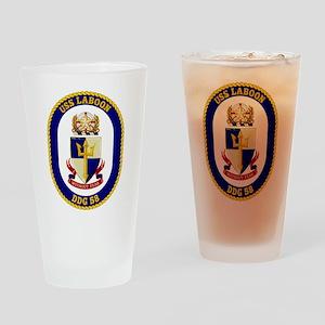 DDG-58 USS Laboon Drinking Glass