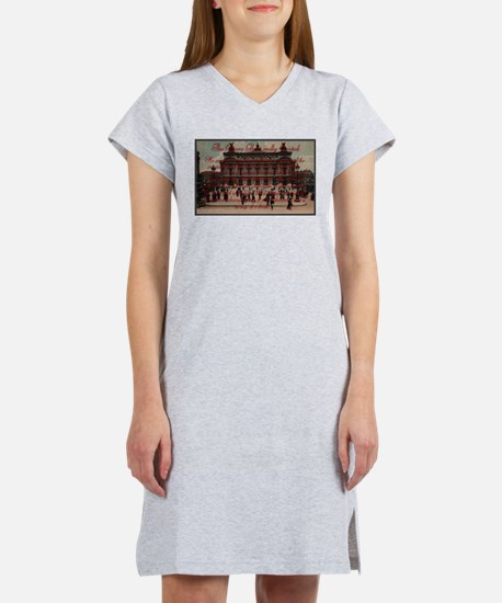 Cute Opera ghost Women's Nightshirt