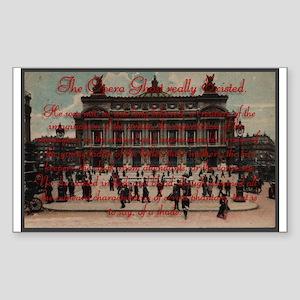 Paris Opera ~ Rectangle Sticker