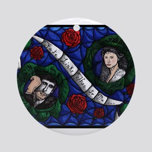 'Fate Links Thee to Me' ~ Ornament (Round)