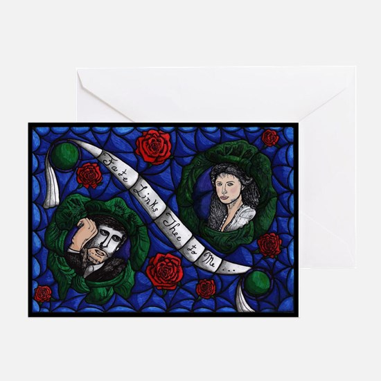 'Fate Links Thee to Me' ~ Greeting Card