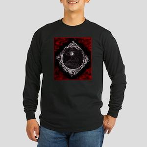Phantom (Red) ~ Long Sleeve Dark T-Shirt