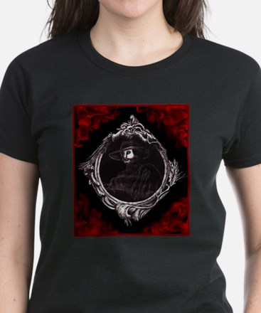 Phantom (Red) ~ Women's Dark T-Shirt