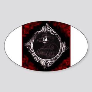 Phantom (Red) ~ Oval Sticker