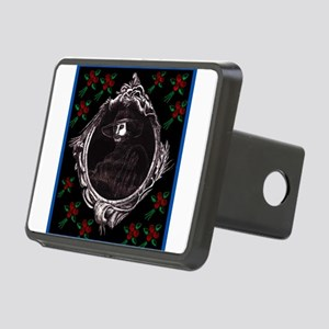 Phantom, (with Red Roses) Rectangular Hitch Cover