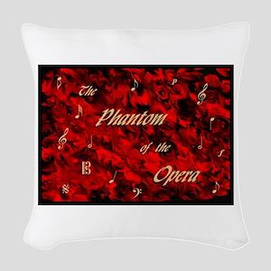 Phantom of the Opera, Red Swirl Logo, Woven Throw