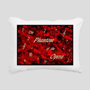 Phantom of the Opera, Red Swirl Logo, Rectangular