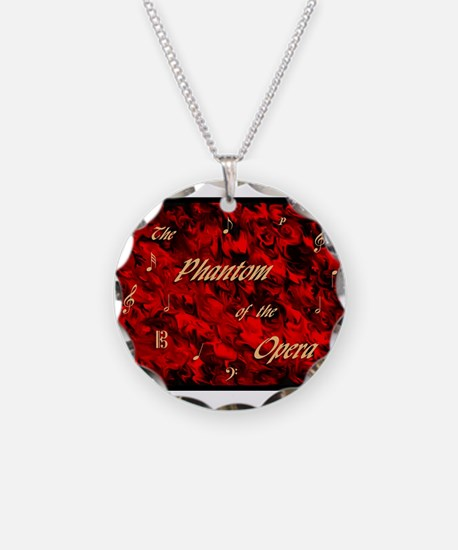 Cute Red death Necklace