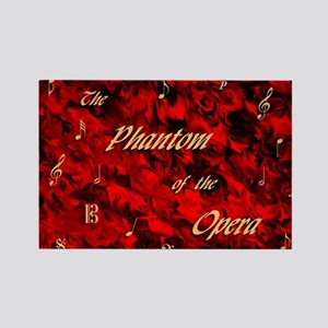 Phantom of the Opera, Red Swirl Logo, Magnets