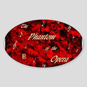 Phantom ~ Oval Sticker