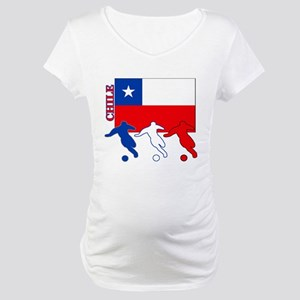 Soccer Chile Maternity T-Shirt