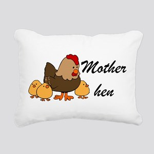 Mother hen Rectangular Canvas Pillow