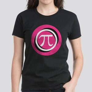 Pink Pi Women's Dark T-Shirt