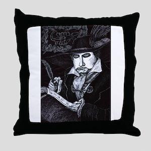Phantom of the Opera ~ Missa Solemnis Throw Pillow