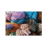 Handspun Yarn Rectangle Magnet (100 pack)
