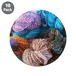 """Handspun Yarn 3.5"""" Button (10 pack)"""