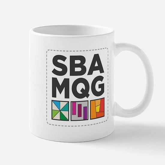 South Bay Area Modern Quilt Guild Logo Mugs