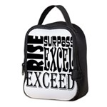Rise, Surpass, Excel, Exceed Neoprene Lunch Bag