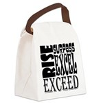 Rise, Surpass, Excel, Exceed Canvas Lunch Bag