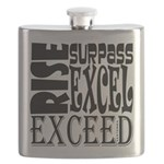 Rise, Surpass, Excel, Exceed Flask