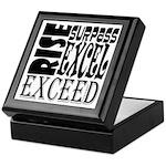Rise, Surpass, Excel, Exceed Keepsake Box