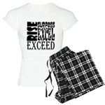 Rise, Surpass, Excel, Excee Women's Light Pajamas
