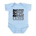 Rise, Surpass, Excel, Exceed Infant Bodysuit