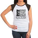 Rise, Surpass, Excel, E Women's Cap Sleeve T-Shirt