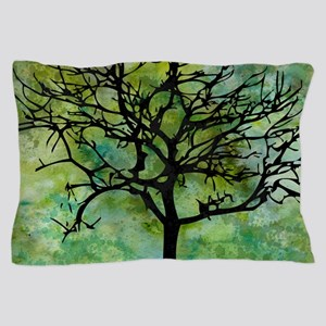 Watercolor Tree Pillow Case