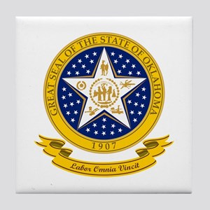 Oklahoma Seal Tile Coaster