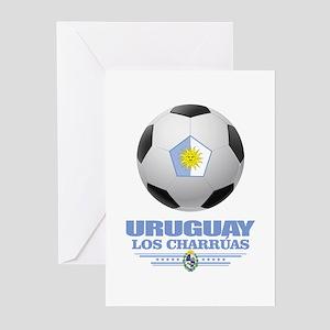 Uruguay Football Greeting Cards