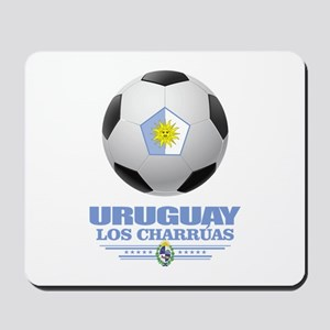 Uruguay Football Mousepad