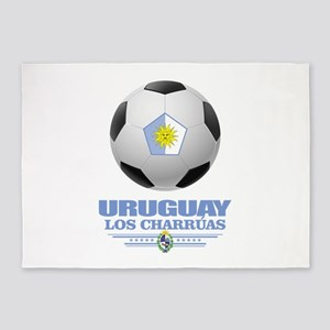 Uruguay Football 5'x7'Area Rug