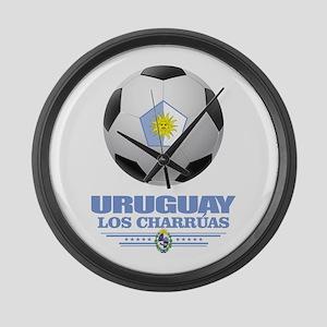 Uruguay Football Large Wall Clock