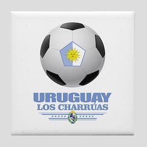 Uruguay Football Tile Coaster