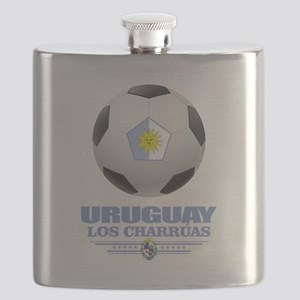 Uruguay Football Flask