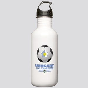 Uruguay Football Water Bottle