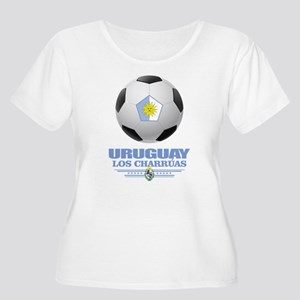 Uruguay Football Plus Size T-Shirt