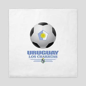 Uruguay Football Queen Duvet