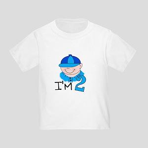 I'm 2 Boy Toddler T-Shirt