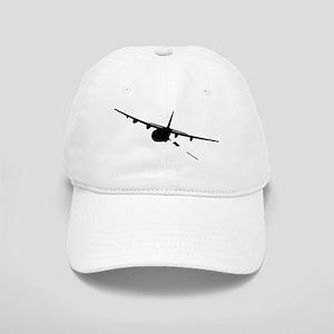 Gunship silhouette Cap