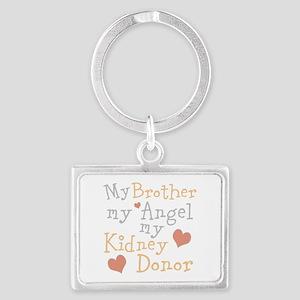 Personalize Kidney Donor Landscape Keychain