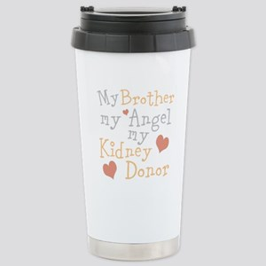Personalize Kidney Dono Stainless Steel Travel Mug
