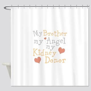 Personalize Kidney Donor Shower Curtain