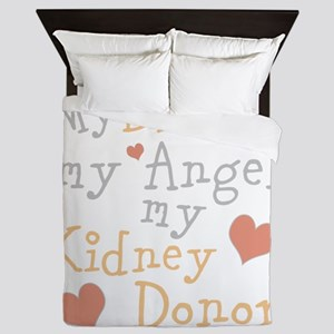 Personalize Kidney Donor Queen Duvet